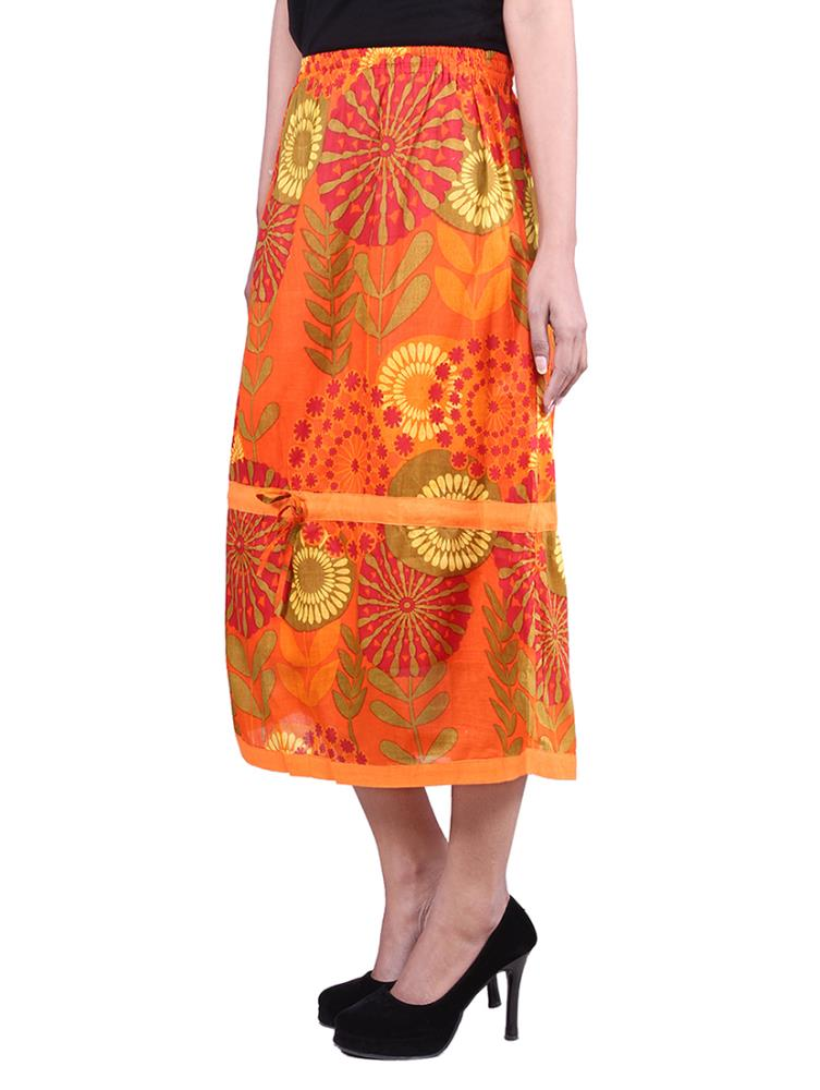Innovative Buy Ishin Peachpuff Georgette Skirts Online At Best Prices In India