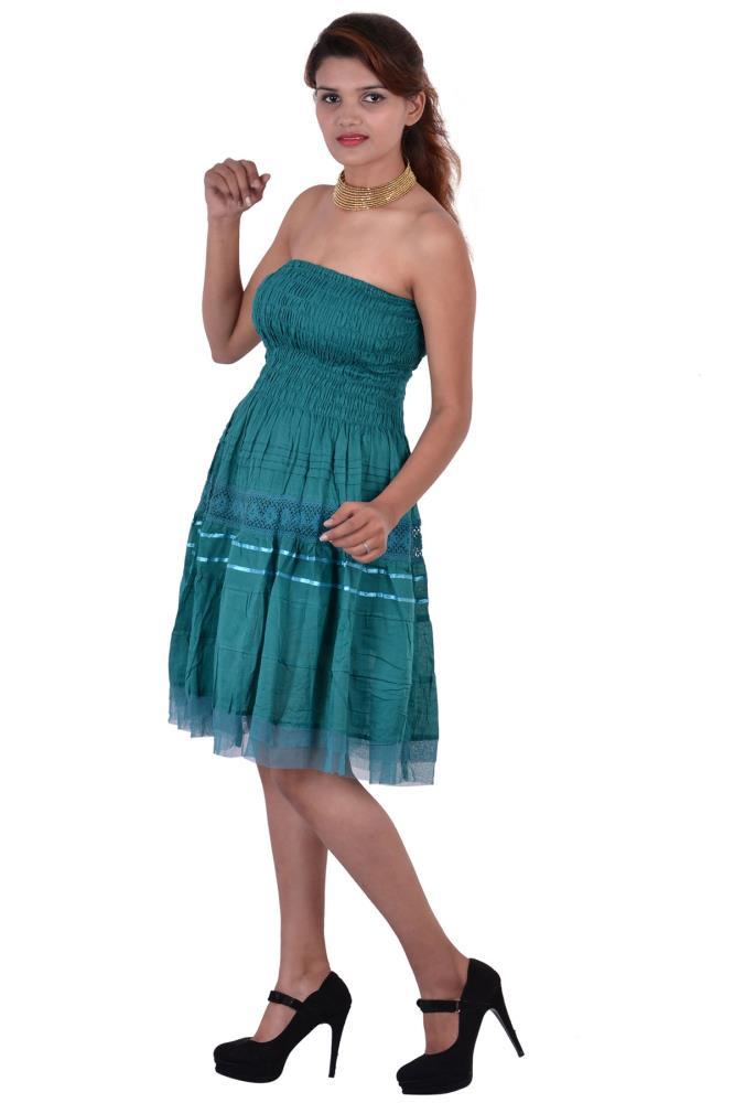 C green colour dresses images